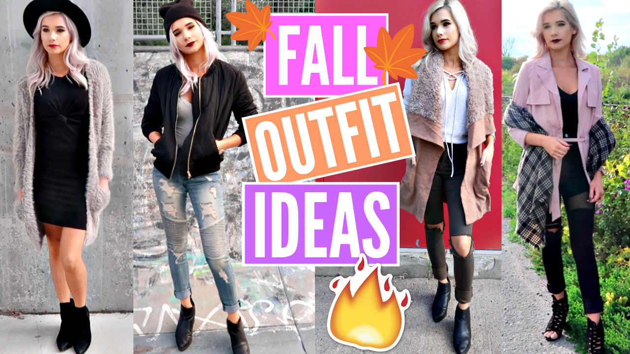 ce54960c61 FALL OUTFIT IDEAS *AFFORDABLE* | NEW Fashion Trends Lookbook 2016